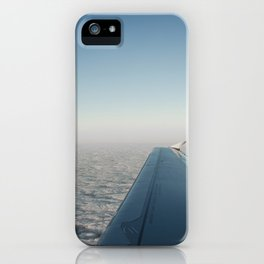 Wing in the clouds iPhone Case