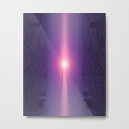 Let the guiding light lead you Metal Print