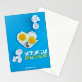 Nothing Can Break Us Apart Stationery Cards