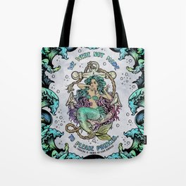 Not Made to Please Princes Tote Bag