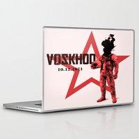 soviet Laptop & iPad Skins featuring Soviet experiments by Slug Draws