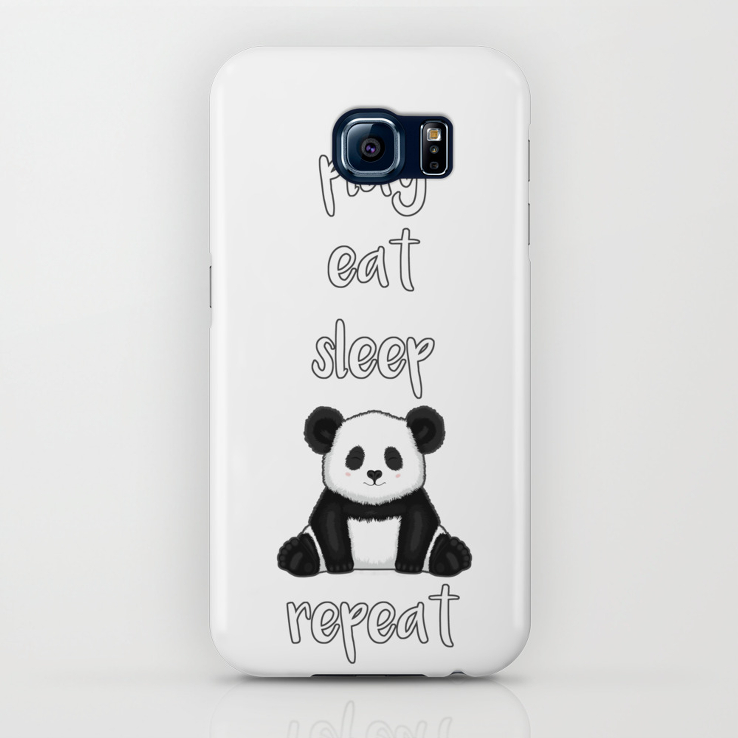 online retailer 0dabc 0ec2d Fluffy Panda iPhone Case