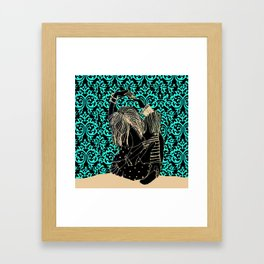 It takes two to tango! Framed Art Print