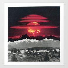 Apocalypse Then And Now Art Print