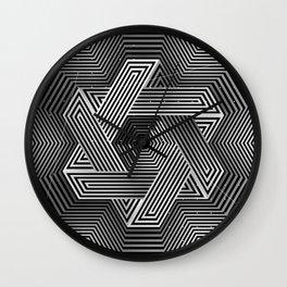 Cube-shuttle Wall Clock