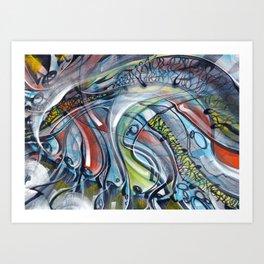 Sound Visual Art Print