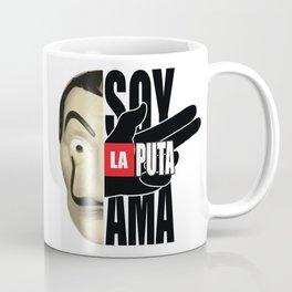 La casa de Papel Money Heist Quote Coffee Mug