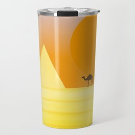 In the desert... Travel Mug