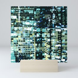 City Never Sleeps 1 Mini Art Print