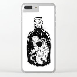 Never Enough Space Clear iPhone Case