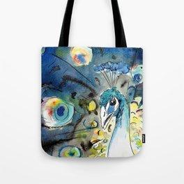 Vanity (Peacock) Tote Bag