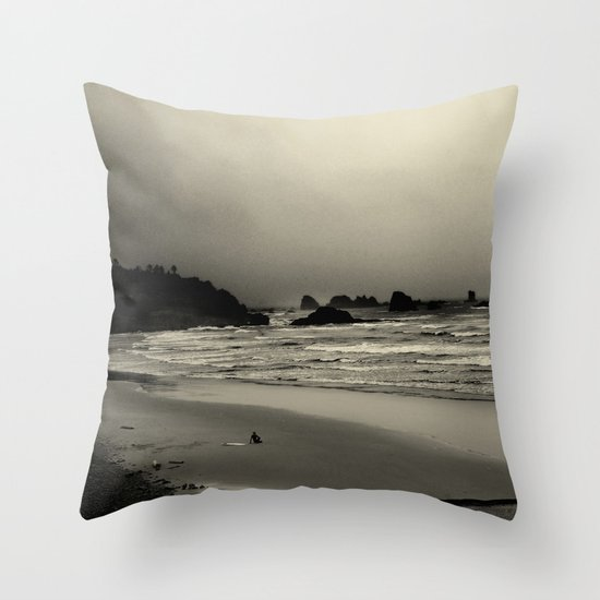 What the Water Brought Me Throw Pillow