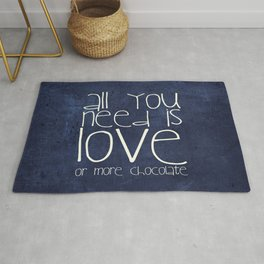 CHOCOLATE LOVE Rug