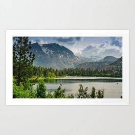 June Lake, Inyo National Forest, California Art Print