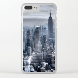 New York skyscrapers Clear iPhone Case