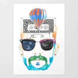 Hipsters Paradise Art Print