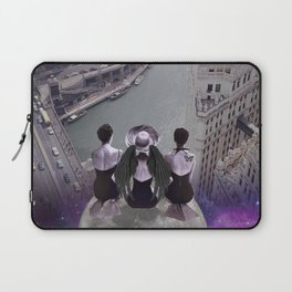 let's look down on everything from the super moon Laptop Sleeve