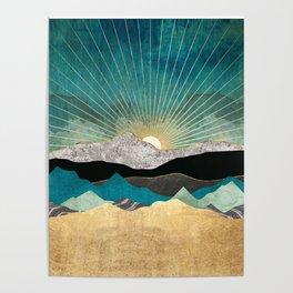 Peacock Vista Poster