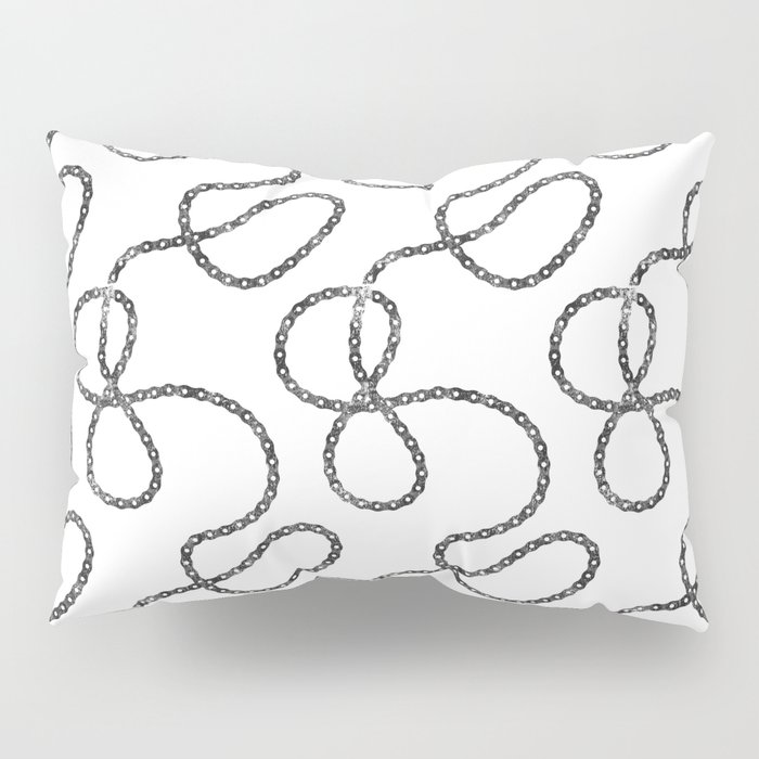 bicycle chain repeat pattern Pillow Sham