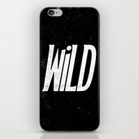 into the wild iPhone & iPod Skins featuring Wild by Josh LaFayette
