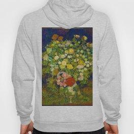 Vincent van Gogh Irises Floral Purple Green Hoody
