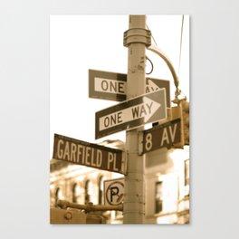City sign Canvas Print