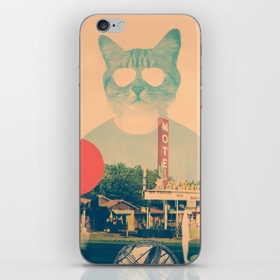 Cool Cat iPhone Skin