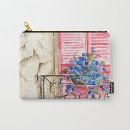 Balcony in France Carry-All Pouch
