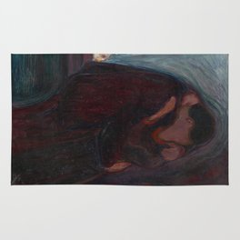 The Kiss - Edvard Munch Rug