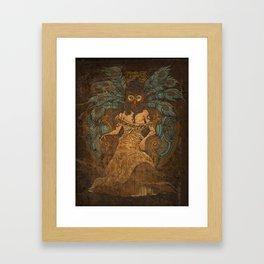 Sister Wisdom Framed Art Print