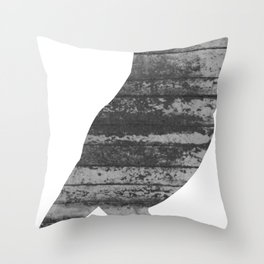Owl (The Living Things Series) Throw Pillow