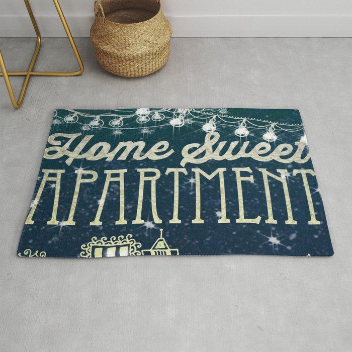 Home Sweet Apartment Rug