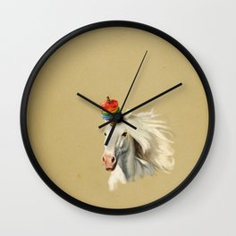 Rescue Unicorn Wall Clock