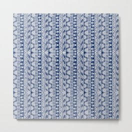 bohemian in blue Metal Print