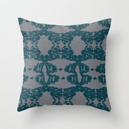 A glitch in time 4 Throw Pillow