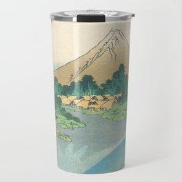 Katsushika Hokusai - Mt Fuji Reflection Travel Mug
