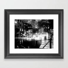 Rainy Day, Dream Away Framed Art Print