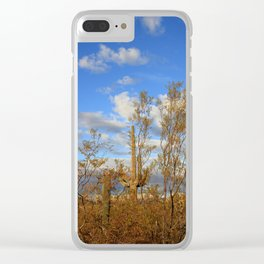 Rising Tall Clear iPhone Case