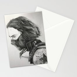 The Winter Soldier (sketch) Stationery Cards