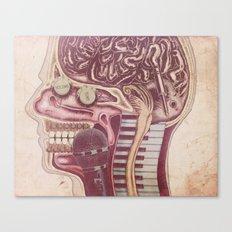 Music Mind Canvas Print
