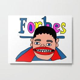 Forbes Metal Print