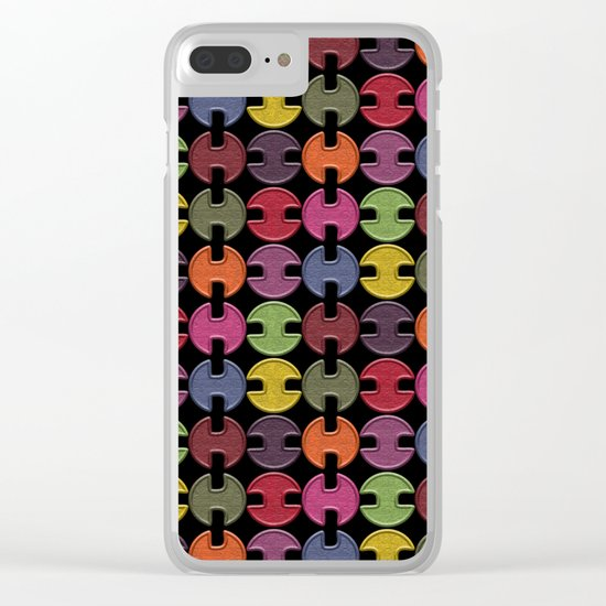 Pattern #25 Clear iPhone Case