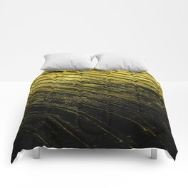 abstract fine art photography light water reflection pattern wood texture Comforters