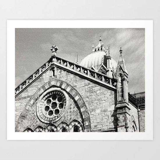 Emmanuel Church Art Print