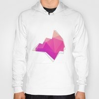 polygon Hoodies featuring Polygon Soul by Favored Clothing