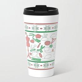 Sewing Christmas Travel Mug