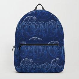 Torquay Typography - Deep Blue Backpack