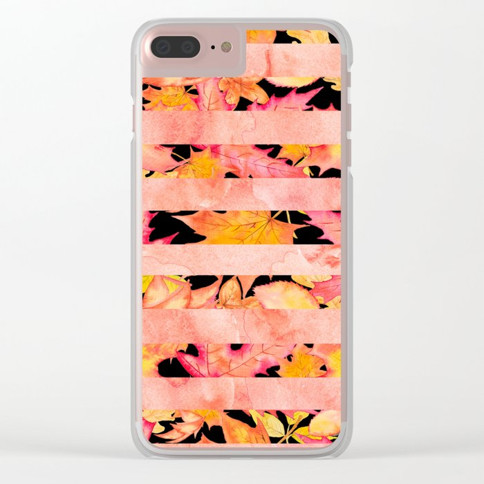 Autumn leaves #16 Clear iPhone Case
