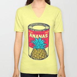 Condensed ananas Unisex V-Neck