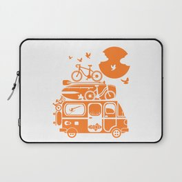 Funny family vacation camper Laptop Sleeve